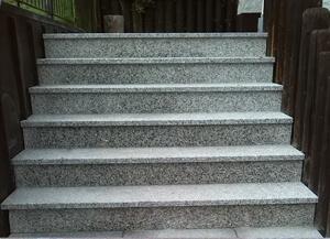 Treppenstufen in Oberstaufen, gebaut von Saltarelli Sportelli